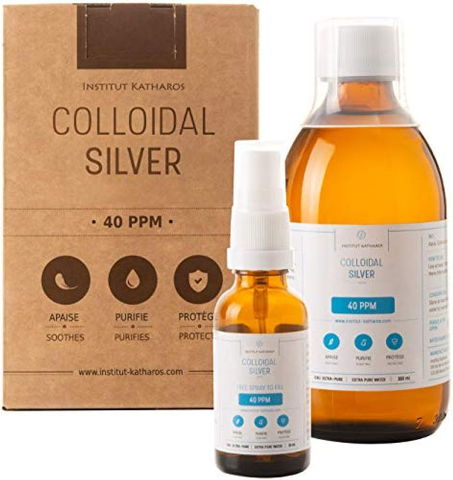 40 PPM Highest Purity Colloidal Silver 300mL