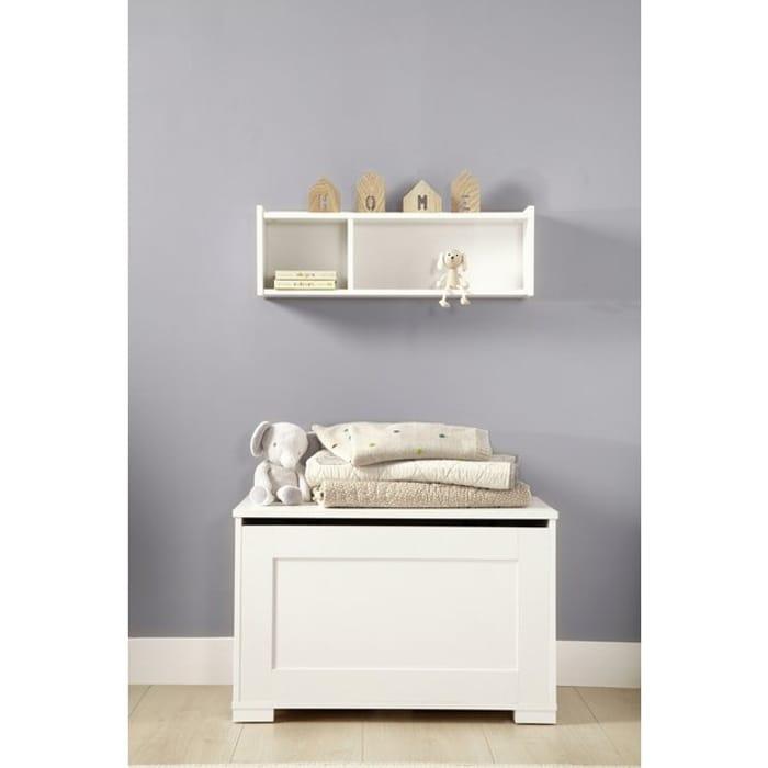 Mamas & Papas Harrow Furniture Storage Box and Shelf - White