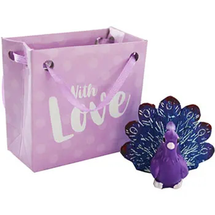Swan or Peacock in a Miniature Gift Bag - Assorted