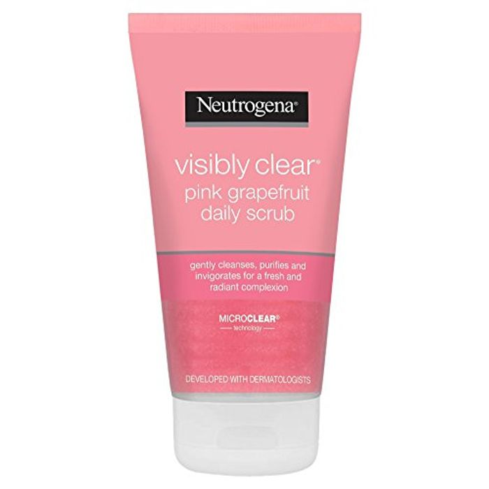 """""ADD ON"""" Neutrogena Visibly Clear Pink Grapefruit Daily Scrub, 150ml"