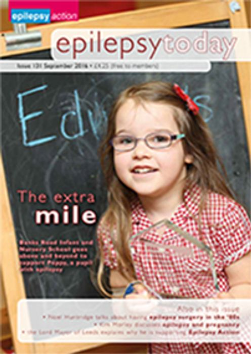 Free Edition of Epilepsy Today Magazine