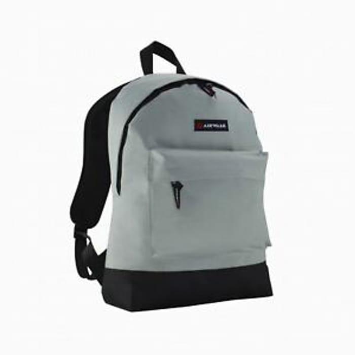 Airwalk Unisex Essentials Backpack Back Pack Zip