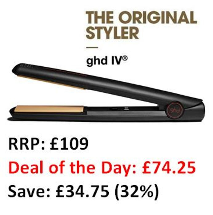 WOW PRICE! Ghd Original IV Professional Styler