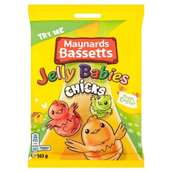 Maynards Jelly Babies Chick 165G