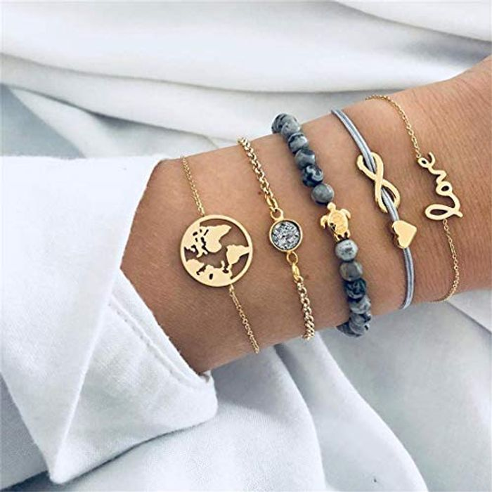 **BARGAIN** 5 Pcs, Super Cute Bracelets!! FREE DELIVERY