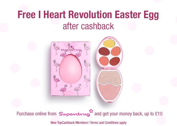 Free I Heart Revolution Easter Egg