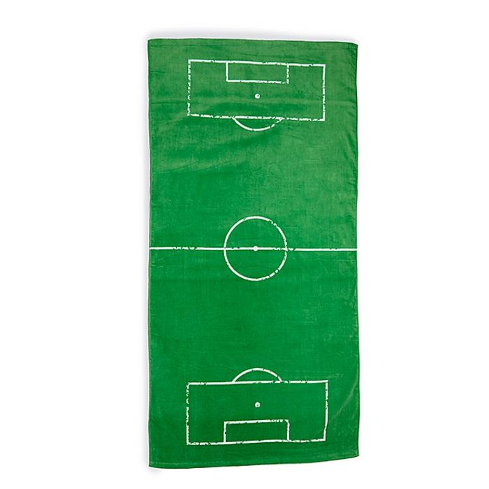 Football Print Towel