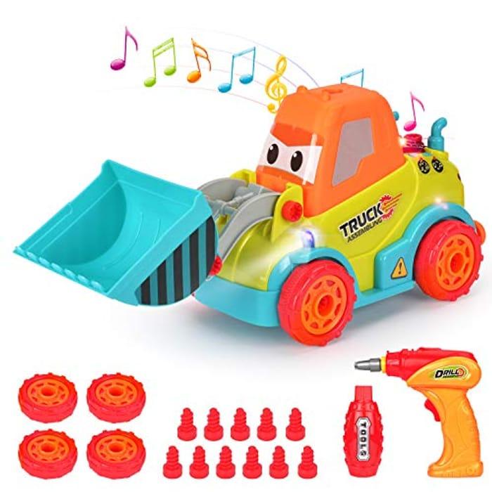 Lightning & Voucher - Take Apart Toy Racing Car