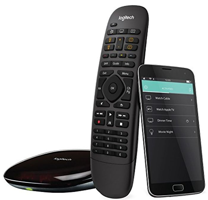 Logitech Harmony Companion All-in-One Remote Control for Smart Home