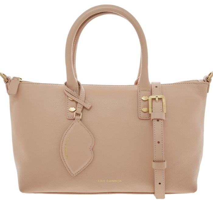 LULU GUINNESS Blush Pink Grab Bag
