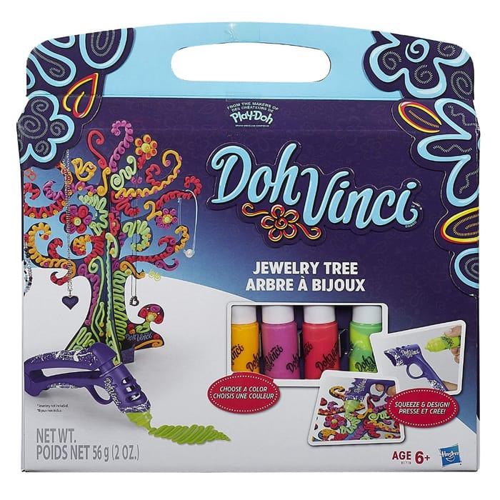 LAST 4 in STOCK! Play-Doh DohVinci Jewelry Tree Kit