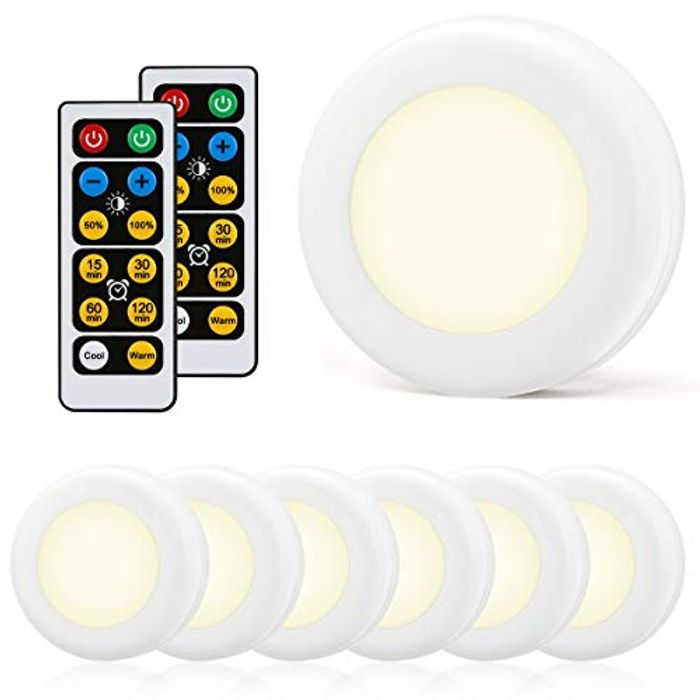 Under Cabinet Kitchen Light with Remote Control Pack