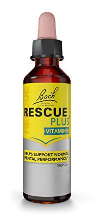 RESCUE plus Dropper Lemon and Elderflower, 20 Ml
