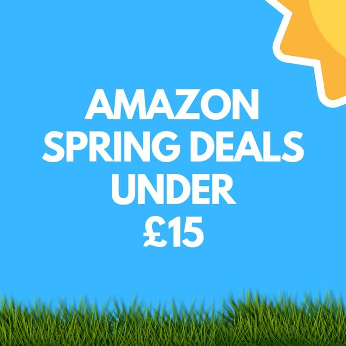 [DESKTOP ONLY] Amazon Spring Deals under £15 + 50% off + 4* Reviews