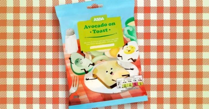 Avocado on Toast Sweets - 90p at Asda