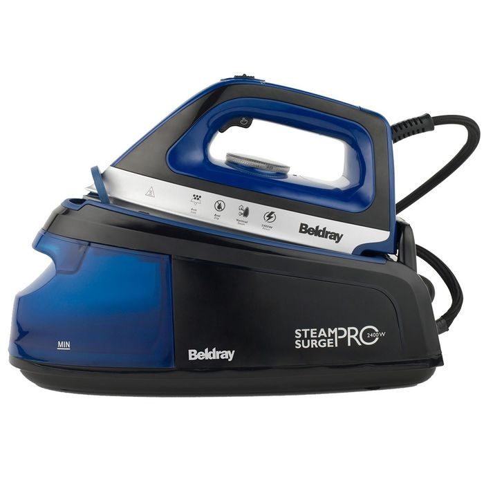 Beldray BEL0775 1.2L Steam Surge Pro - Blue £22.49 with Code