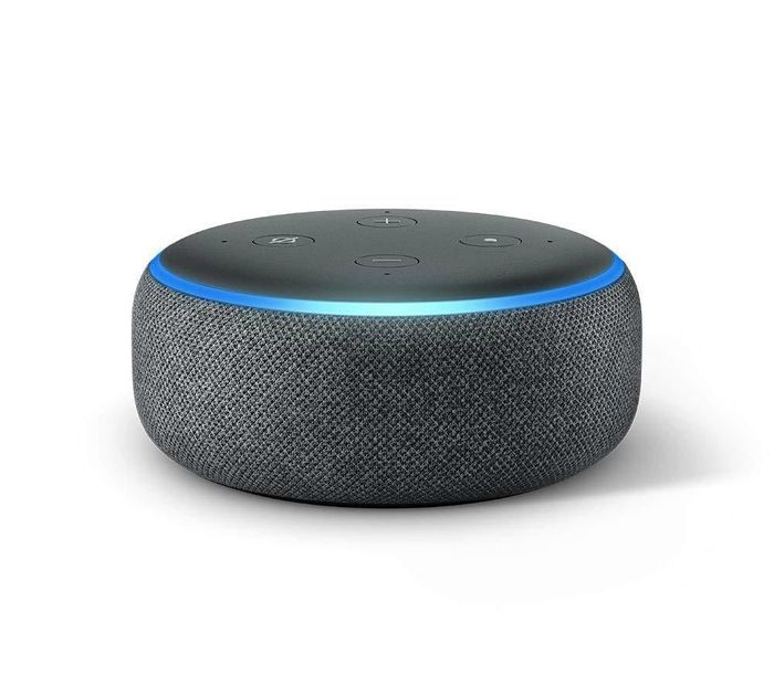 Amazon Echo Dot - CHARCOAL - SAVE £20 + FREE DELIVERY