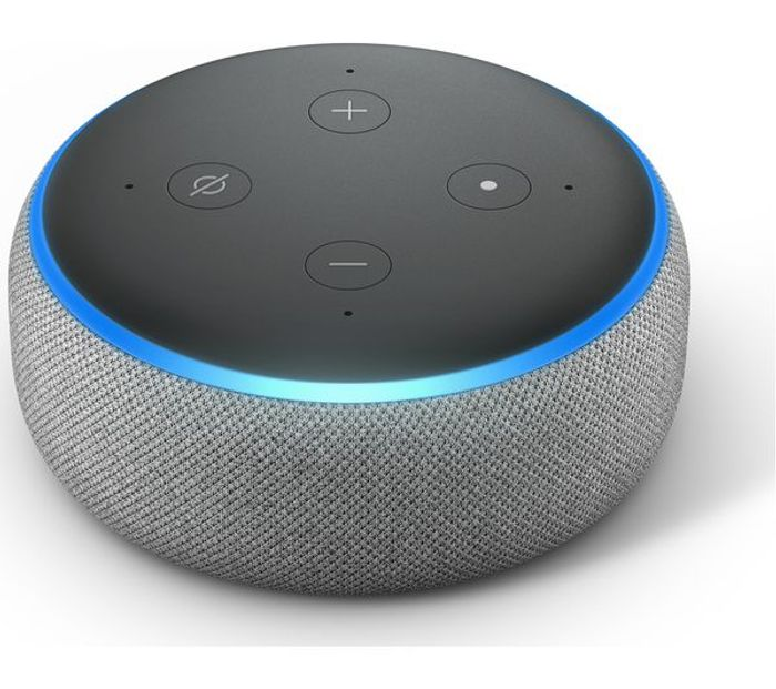 Amazon Echo Dot - HEATHER GREY - SAVE £20 + FREE DELIVERY