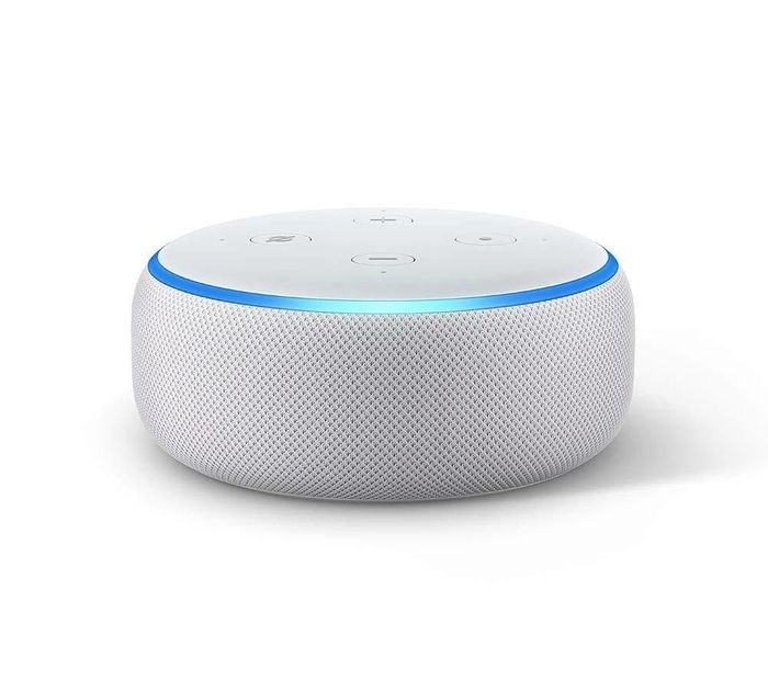 Amazon Echo Dot - SANDSTONE - SAVE £20 + FREE DELIVERY