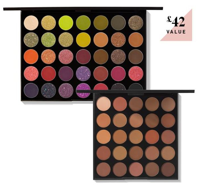 Morphe set of 2 Eyeshadow Palettes Bargain!