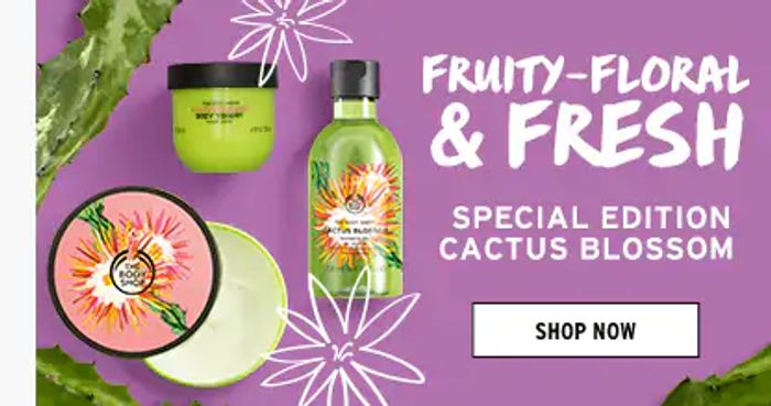 £10 off for £30 Spend at BODYSHOP
