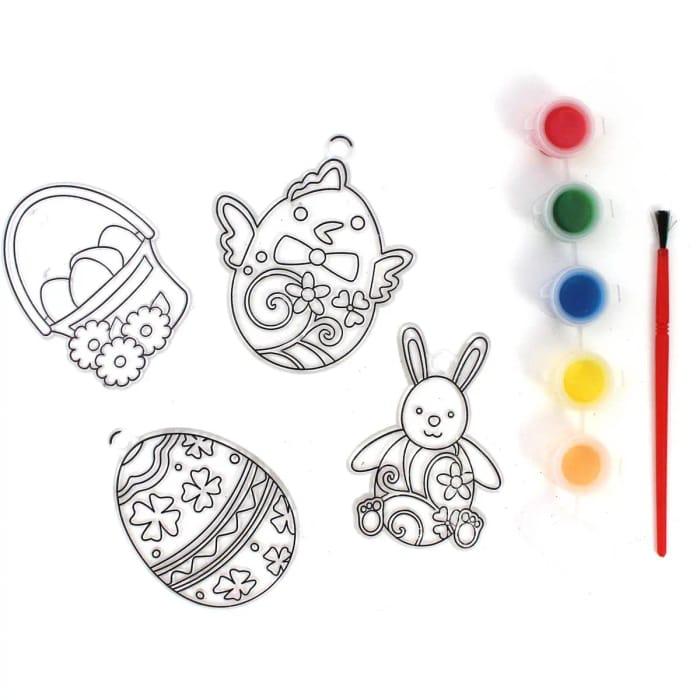 Mini Easter Suncatcher Kit 4 Pack