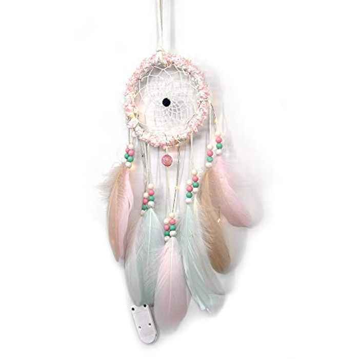 LED Lights, Diadia LED Color Dreamcatcher Fairy Lights Bell at Amazon