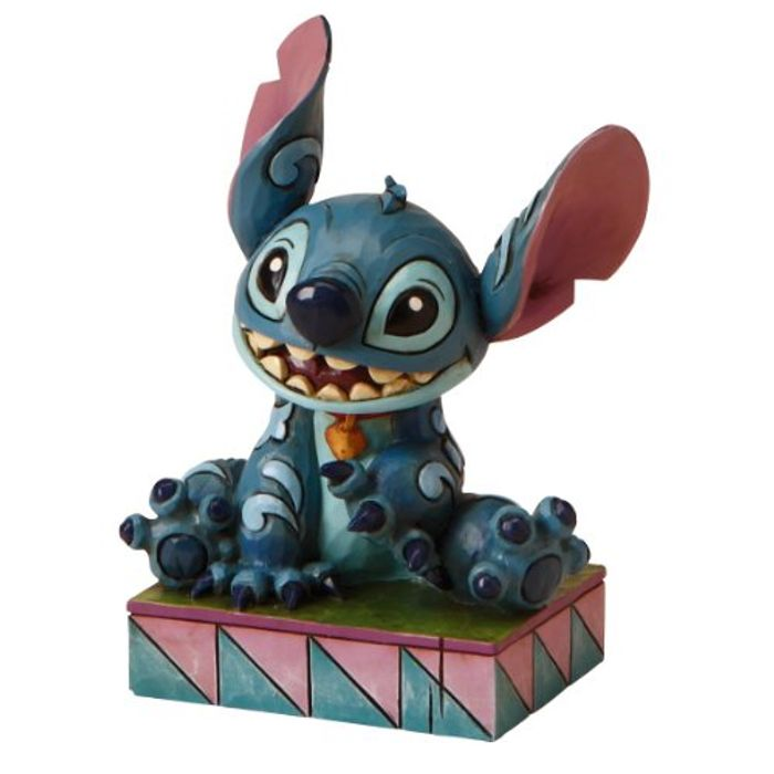 Disney Traditions Stitch Ohana Means Family Figurine Only £14.99 Delivered