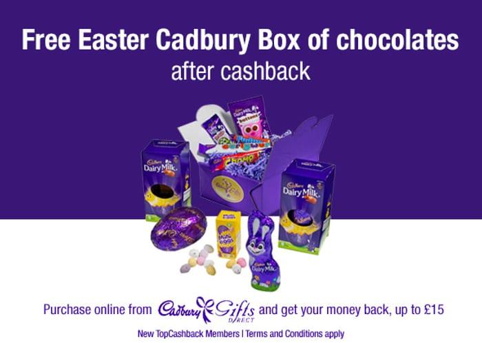 Free Cadbury Easter Box