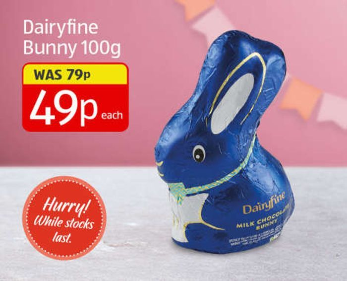 Dairyfine Milk Chocolate Bunnies