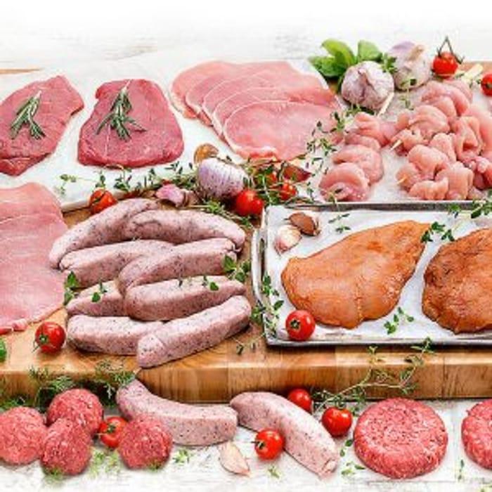 Massive Meat Hamper for £1 When You Buy A Meat Hamper