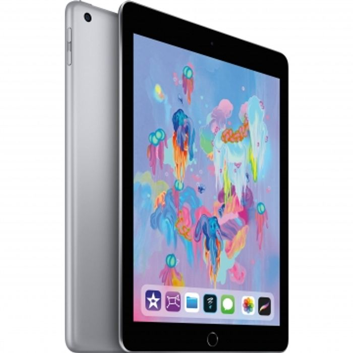 "It's Back - Apple iPad 9.7"" (2018) 32GB Wifi - Space Gray + Free Folding Case"