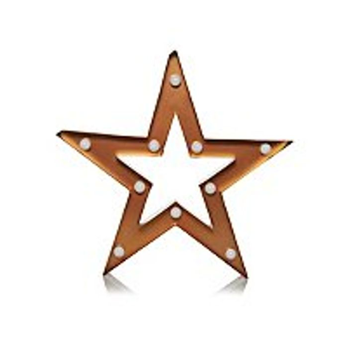 Cute Star-Shaped Marquee Light - Save £3