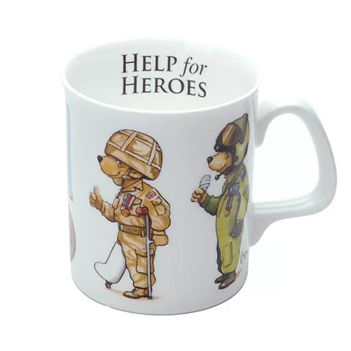 Help for Heroes - 4 Bears China Mug