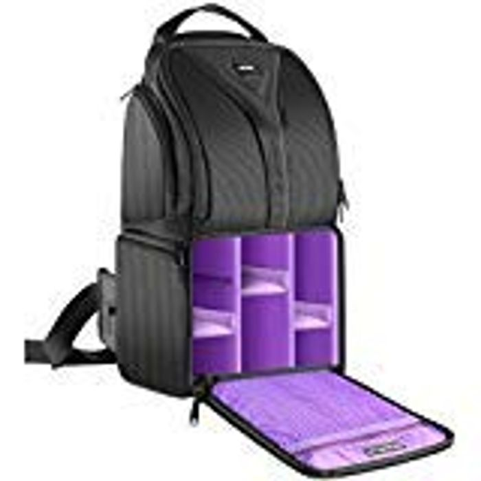 Waterproof Lightweight and Durable Backpack for Various Cameras