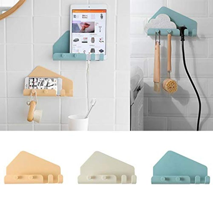 Wall Rack / Hook/ Phone Tablet Holder
