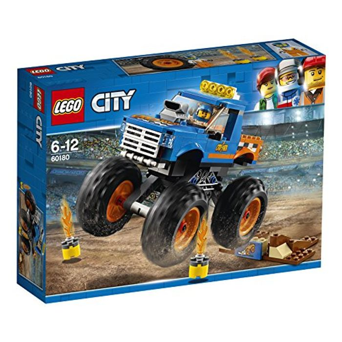 LEGO 60180 City Great Vehicles Monster Truck Toy