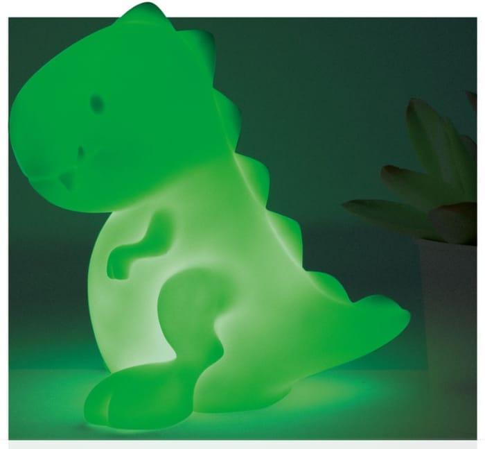Colour Changing Dinosaur Desk Light £3 at Robert Dyas (Free Click & Collect)