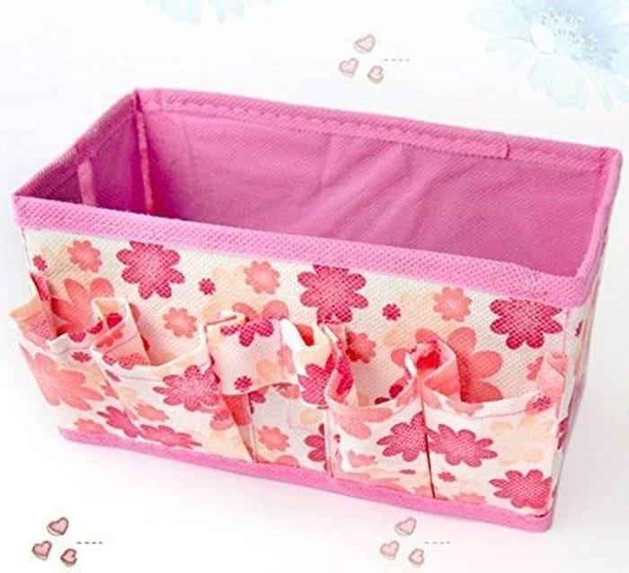 CUTE Foldable Multi Use Make Up/storage Box