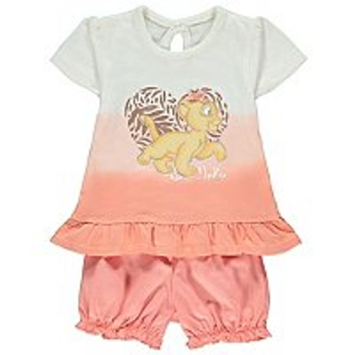 Disney the Lion King Nala Top and Shorts Outfit Sale