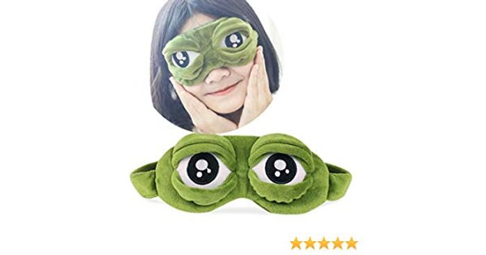 Pepe the Frog 3D Eye Mask FREE DELIVERY