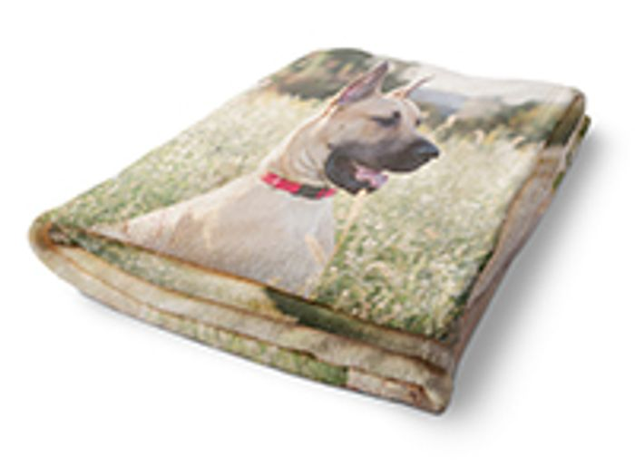 "60"" X 50"" Photo Blanket Was: £59.99 Now: £20"