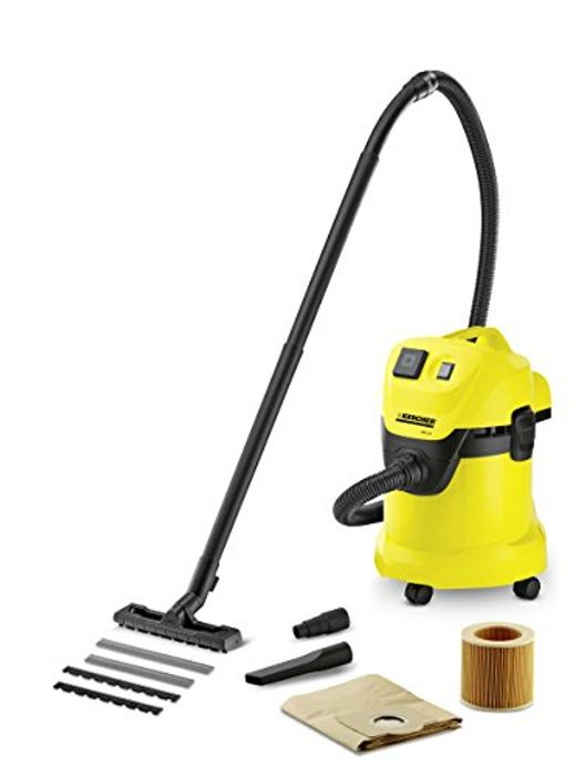 Karcher WD3P Wet and Dry Vacuum [Energy Class A]