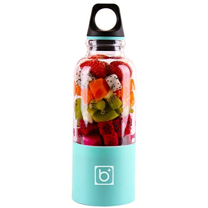 500ml Portable Blender Electric Juicer Cup USB Rechargeable