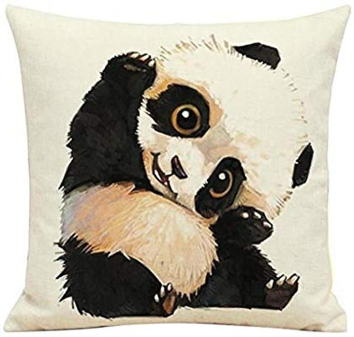 Amazon - Cute Panda Cushion Covers - £2