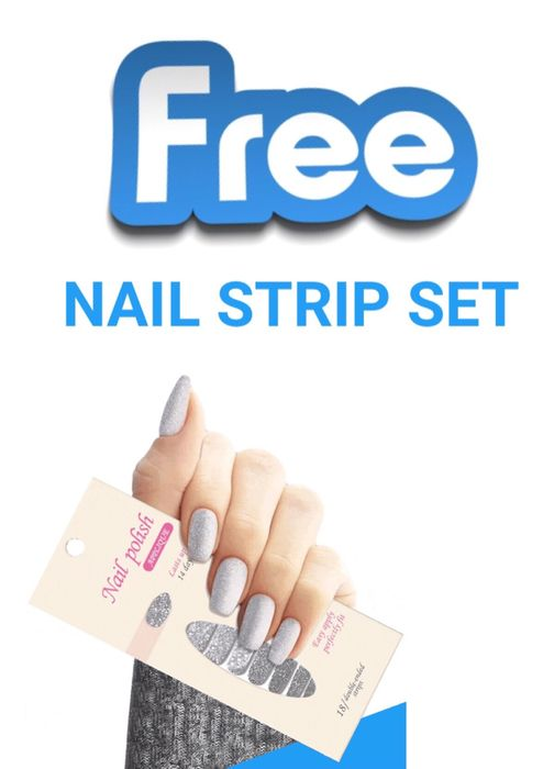 FREE Pack of Nail Strips