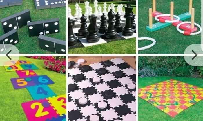 From £3.99 Giant Outdoor Garden Games - 16 Options!