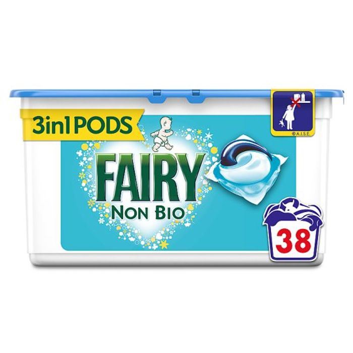 Fairy Non Bio. Pods Washing Capsules 38 Washes