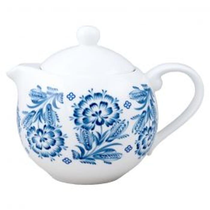 Marie Claire Palette Tres Bleu Teapot 450ml