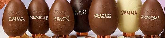 Thorntons | FREE Personalisation on Selected Easter Eggs